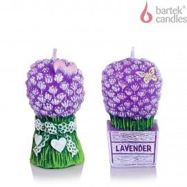 Lavender bouquet figure 75 mix