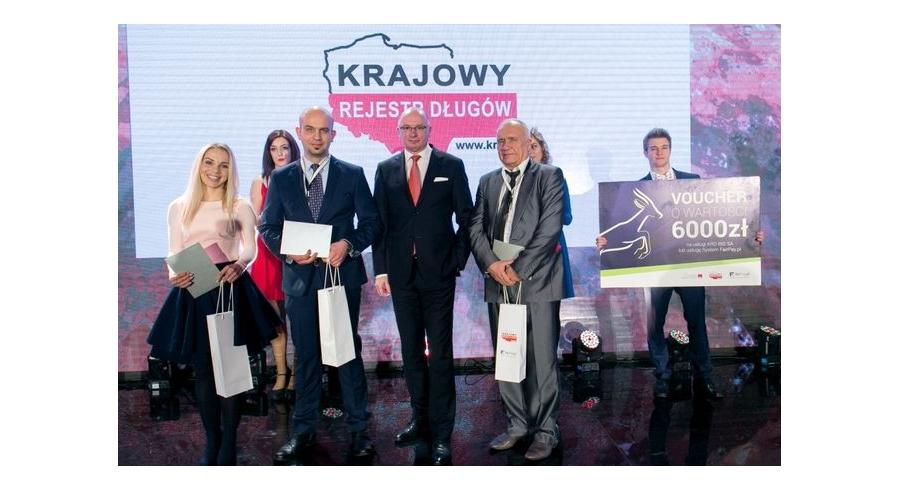 Preis Gazele Biznesu (Gazellen des Business) für Bartek Candles